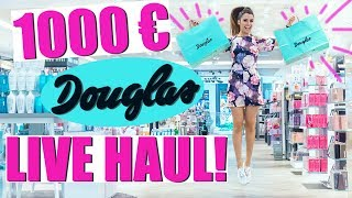 1000€ LIVE HAUL DEN IHR BESTIMMT 🛍💕 IM DOUGLAS + VERLOSUNG!  KINDOFROSY