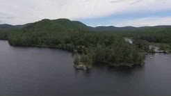Adirondack Aerial Video of Brant Lake, NY from the north end...