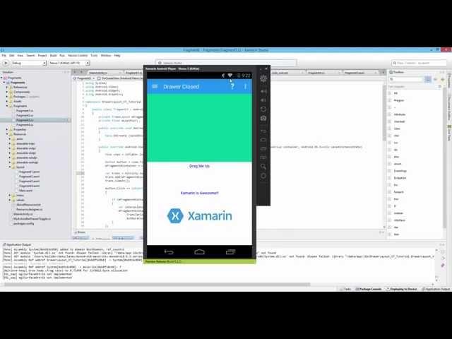 Xamarin Android Tutorial   62   Nesting Fragments