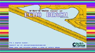 Echo Beach (Instrumental) [ Bitpop / Chiptune ]- Tribute to Martha & The Muffins
