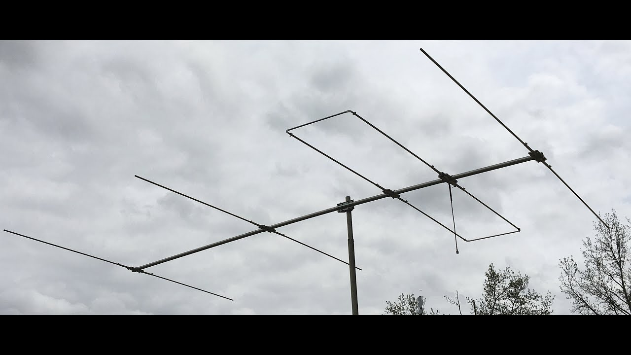LOOP fed yagi 4 element 6 meter HY-GAIN Loop fed array