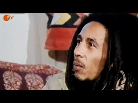Bob Marley - rare interview footage (standard english translation in description)
