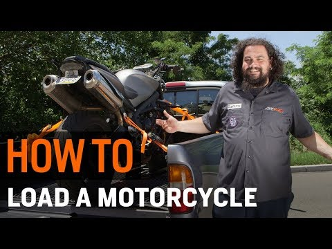 Thumbnail for How To Load a Motorcycle Into a Truck