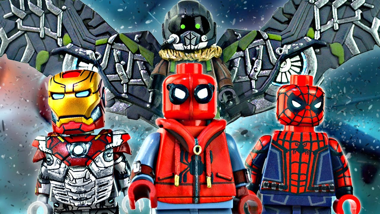 Lego marvel spider man homecoming minifigures - Lego spiderman 3 ...