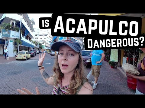 What ACTUALLY SCARES US About ACAPULCO, MEXICO