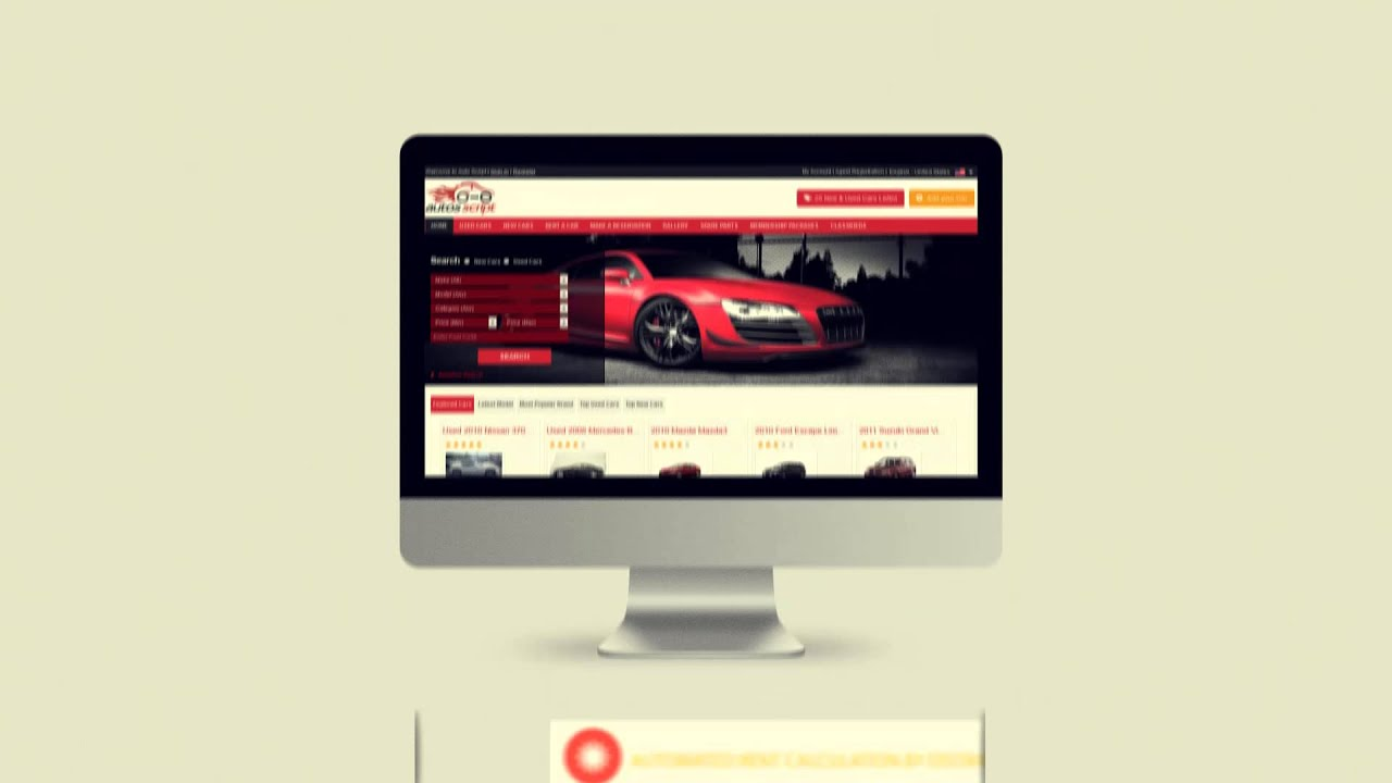 Car Classifieds Script for Automobile and Vehicles Script - YouTube