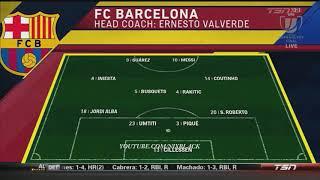 Σεβίλλη vs Μπαρτσελόνα 0-5 Τελικός Κυπέλλου Ισπανίας ολα τα στιγμιότυπα του αγώνα