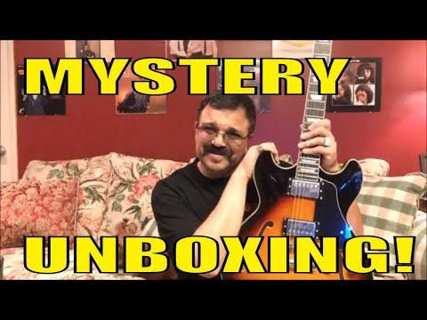 MYSTERY UNBOXING! | Surprise Birthday Guitar Gift! | Quick Review