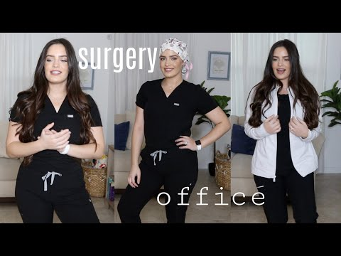 Surgery Vs. Office Day | What I Wear To Work As An RN