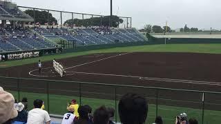 作新学院高校試合終了後の学院歌斉唱 thumbnail
