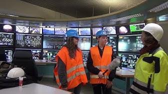 Unterwegs im Müllheizkraftwerk Kassel