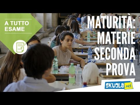 Maturità 2011 - Le Materie