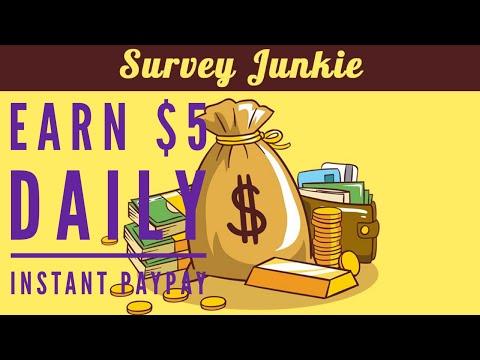 Survey Junkie Top Legit Survey Site $5 Daily./ http://bit.ly/2Mr9Jh9
