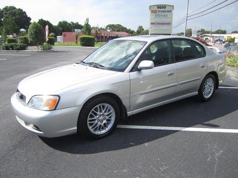SOLD 2003 Subaru Legacy L 59K Miles Meticulous Motors Inc Florida For Sale