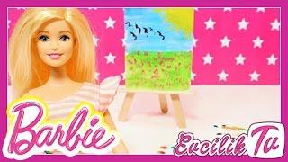 Video Kendin Yap Bölüm 3 | Ressam Barbie için Tuval Şovale Fırça nasıl yapılır | EvcilikTV download MP3, 3GP, MP4, WEBM, AVI, FLV November 2017