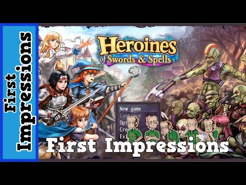 Heroines Of Swords & Spells: First Impressions (RPGMaker MV)
