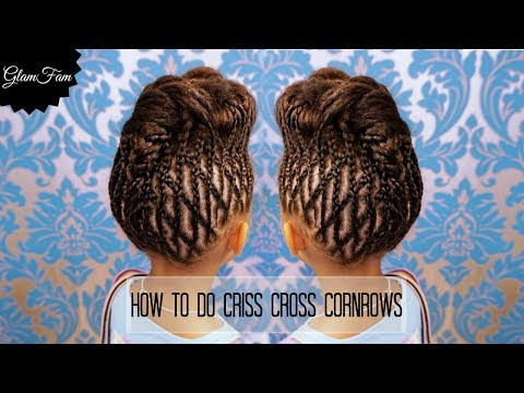 How to do criss cross braids | Braided Hairstyles
