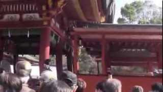 鎌倉の鶴岡八幡宮の節分祭は2月3日(月)午後1時から始まる。その30分前...