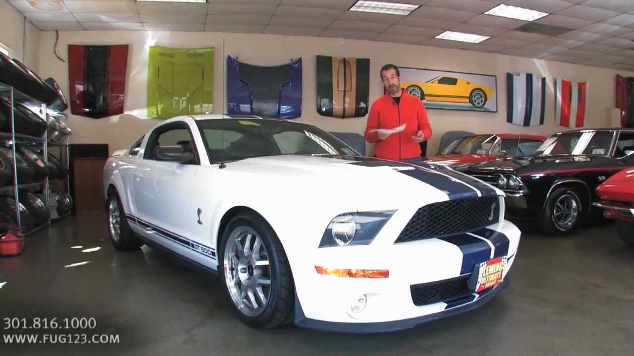 2007 mustang shelby gt500 for sale flemings with test drive driving sounds and walk through video