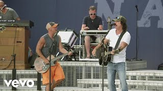 Kenny Chesney Dust on the Bottle Live with David