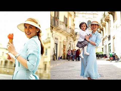 Marian & Dingdong explore Italy with Baby Zia! - 동영상
