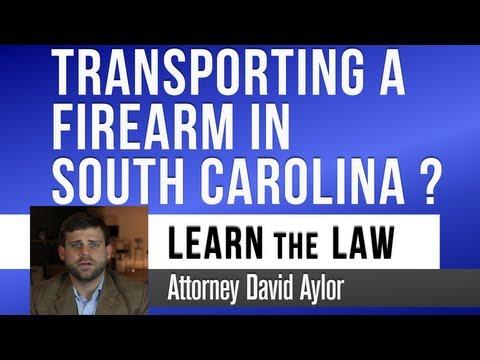 South Carolina Gun Laws: How To Transport In A Car | Charleston SC Defense Lawyer | David Aylor