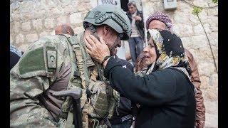 Afrinliler, Türk askerini görünce kurban kesmiş