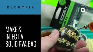 CARPologyTV - OlogyFix How to make and inject a solid PVA bag