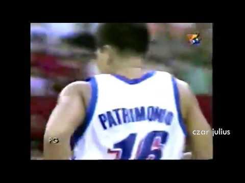 Alvin Patrimonio Highlights vs Tanduay/2000 AFC semi finals/Game 1