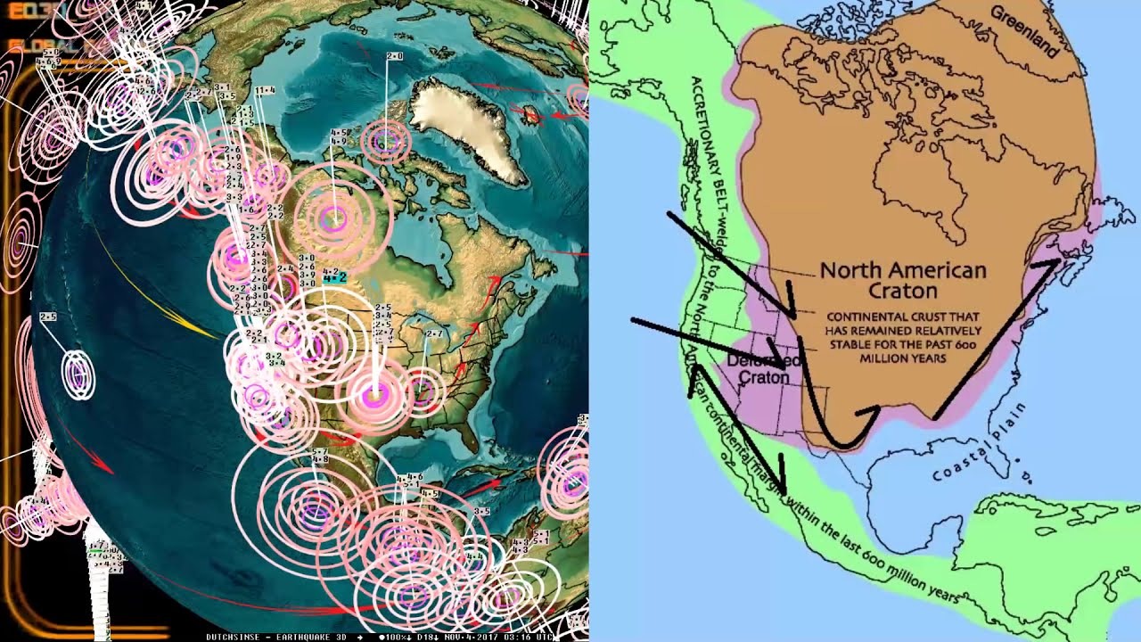 11 03 2017 Yellowstone Earthquake Alert Wyoming Giant Crack In