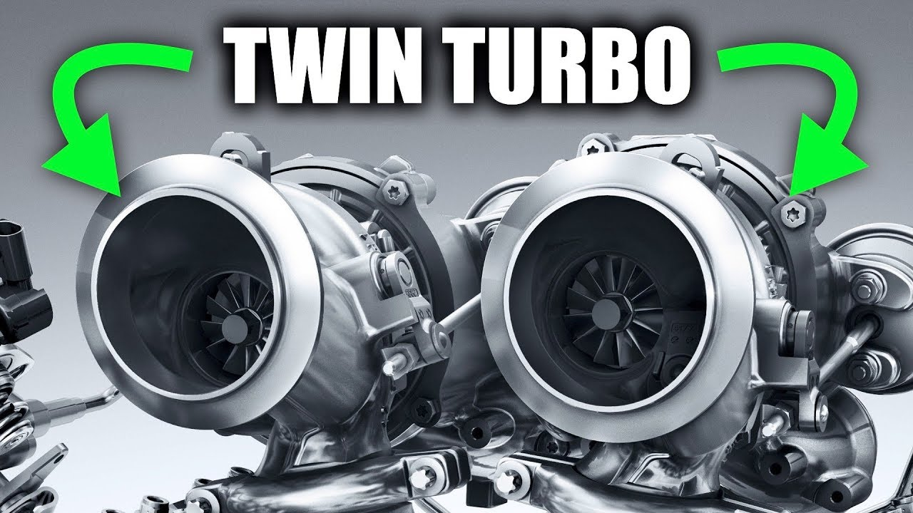 How Twin Turbos Work All The Boost Youtube Basic Motorcycle Engine Diagram
