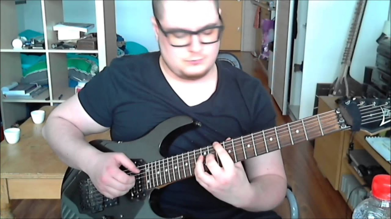 animals as leaders another year guitar cover youtube