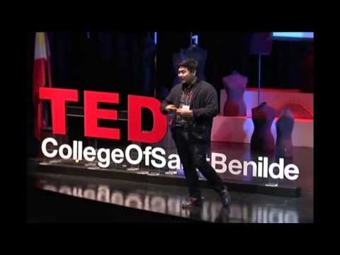 Finding One's Self: making a life VS. making a living. | Revo Naval | TEDxCollegeofSaintBenilde