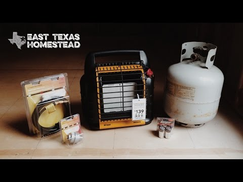Mr. Heater - Big Buddy with 20 lb Propane Tank - Review