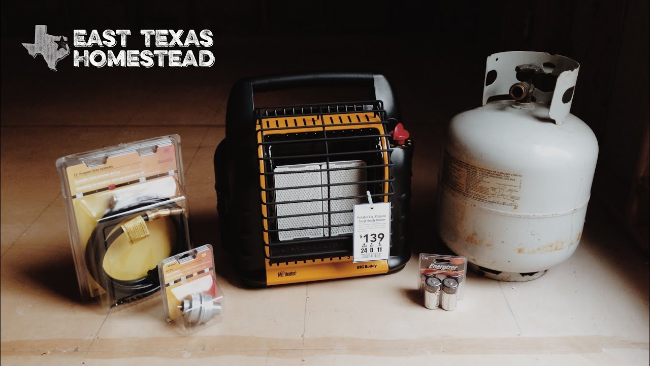 mr heater big buddy with 20 lb propane tank review youtube