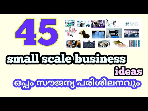 45 Small Scale Business Ideas With Free Training | Excellent Opportunity