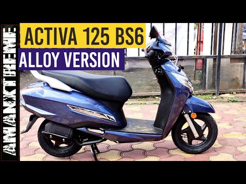 Honda Activa 125 BS6 Alloy review :- Most detailed review of Activa 125 BS6 Fi