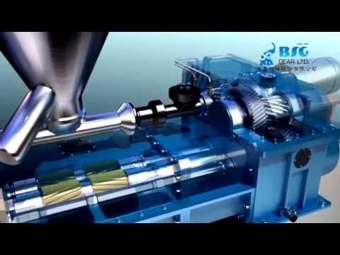 Gear Box, Twin Screw Gearbox, Gearbox For Injection Molding Machine -BSG GEAR LTD.
