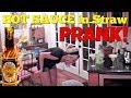 HOT SAUCE IN STRAW PRANK (Dave's Insanity Sauce) - Top Boyfriend and Girlfriend Pranks