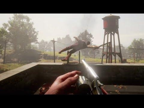 Red Dead Redemption 2 Gore - Brutal Ragdolls Compilation (Euphoria Physics) thumbnail