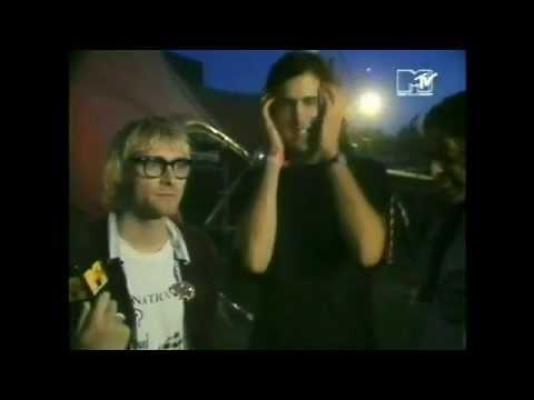 Nirvana - Interviews - Roskilde Festival, Denmark 1992
