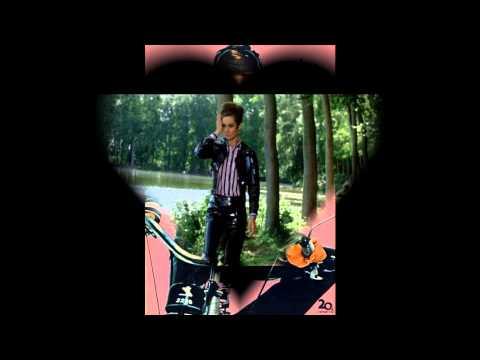 Audrey Hepburn in vinyl outfit