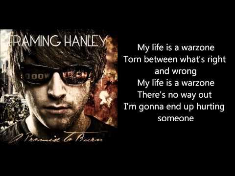 Framing Hanley - Warzone (With lyrics)