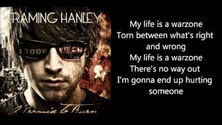 Framing Hanley - Warzone (With lyrics)