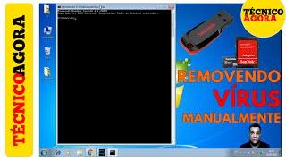 Como remover vírus do seu Pendrive, Cartão SD ou HD Externo manualmente (Sem Programa)