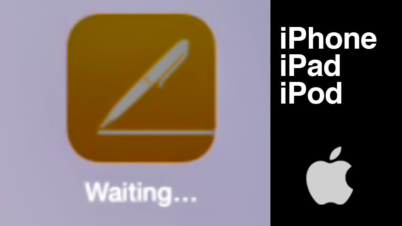 No descarga apps , dice esperando , como Arreglar, solución ...