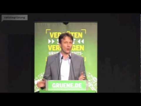 Tolle Rede von Wolfgang Blau bei grüner Urheberrechtstagung