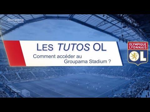 Les Tutos OL Comment Acceder Au Groupama Stadium