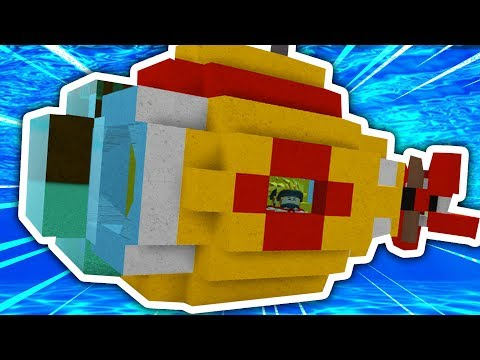 HOW TO BUILD A SUBMARINE IN BUILD A BOAT FOR TREASURE!!