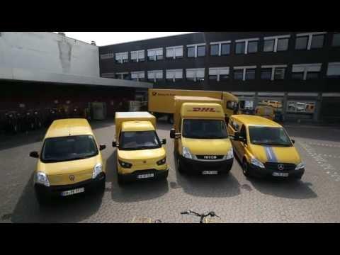 Deutsche Post DHL electric vehicles test fleet
